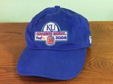 2008 KU Jayhawks football NCAA Orange Bowl hat Youth osfa New Era strapback cap