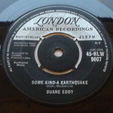 "Duane Eddy - Some Kind-A Earthquake / First Love, First Tears 7"" Vinyl 45 RPM"