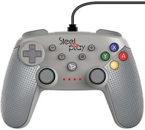 Steelplay - Wired Controller Classic SN Grey /Switch (New)