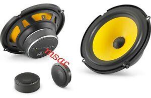 "JL Audio C1-650 C1 Series 6-1/2"" 2 way component speaker system NEW"
