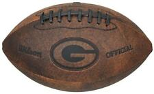 Green Bay Packers Vintage Throwback Football - 9 Inches [NEW] NFL Autograph