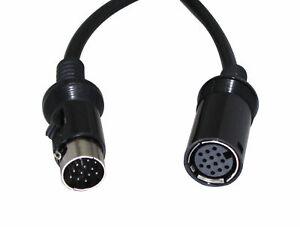 For ALPINE ERA-G320 3342 3337 PXA-H700 H701 RUX-C701 EQ DSP DIN Data 10FT 13pin
