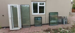 Double glazed glass panels & bifold doors various sizes from conservatory