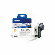 ORIGINALI 400 ETICHETTE BROTHER DK-11204 17x54 PER P-Touch QL560 Series QL720NW