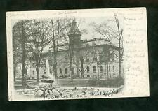Picture Post Card 1905 High School in West Springfield, MA