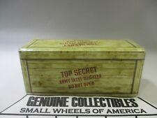 """""""Vintage"""" Indiana Jones Temple of Doom ARMY INTELLIGENCE BOX #8264119 Nice!1981"""