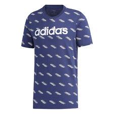 adidas Herren Favorite Tee  T-Shirt dunkelblau NEU