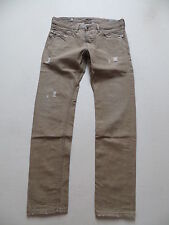 Diesel BELTHER wash 0816B Jeans Hose, W 32 /L 32, braun, Vintage Denim, Ripped !