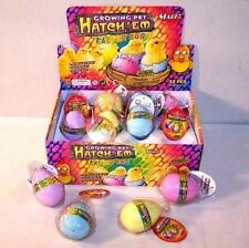 2 HATCHING GROWING EASTER CHIX CHICKEN EGG  GROWING PET HATCH ' EM EGG