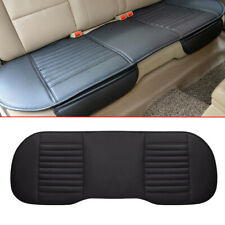 1X Rear Back Car Seat Cover Protector PU Leather Mat Pad Chair Cushion Accessory