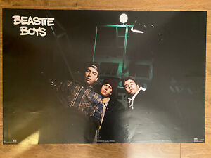 """Beastie Boys Poster 23""""x35"""" Mint condition 1993 Issue. Photo By Glen E Friedman"""