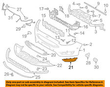 FORD OEM 15-16 Focus-Grille Grill-Outer Left F1EZ17B814B