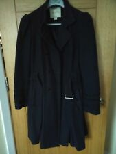 Dark Blue Monsoon Coat. Size 10, perfect condition.