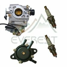 Carburetor Kit For Honda GX620 20HP With Fuel Pump & Spark Plugs Tune Up Kit