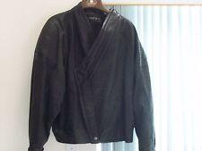 Ladies Black Leather Jacket from Marc Buchanan Pelle Pelle