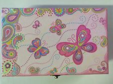 Decorated Storage/craft Supply Box With Clasp
