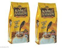 2 CONFEZIONI x Cipro GRECA tradizionale laikou Gold-alta qualità del caffè 200g
