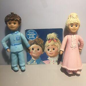 GÉGÉ FRANCE TV COMIC SERIES COUPLE POUPET NICOLAS PIMPRENELL 60s vintage dolls