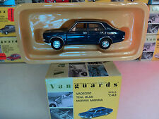 Vanguards 1/43 Morris Marina Teal Blue