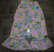 NEW NWT Matilda Jane girls size 8 ruffle pants polka dots roses Spring Easter