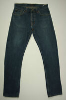 NUDIE Jeans 'REGULAR RALF DRY GREYCAST' Size W32 L34 Indigo EUC RRP $259 Mens