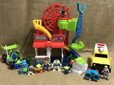 Lot of Fisher-Price Imaginext Disney Pixar Toy Story 4 Carnival
