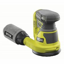 Ryobi ONE+ RANDOM ORBITAL SANDER 18V Swirl-Free Finish R18ROS-0 + Dust Bag