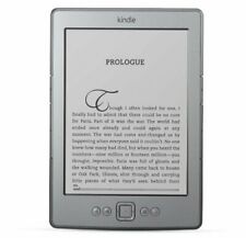 Amazon Kindle D01100 4th Generation 2GB Wi-Fi 6in  Reader silver ref EB071001