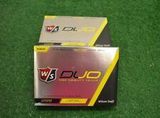 36 Wilson Staff Duo Yellow Golf Balls New In Box