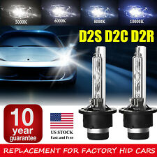 2x D2S 35W Xenon HID Replacement Bulbs BMW X Series E53 X5 2000-2006 4300K