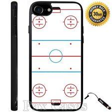 Ice Hockey Rink Case For iPhone 6S 7 Plus Samsung Galaxy S7 Edge S8 Plus +STYLUS
