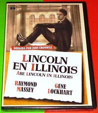 LINCOLN EN ILLINOIS / ABE LINCOLN IN ILLINOIS English Español DVD R ALL Precinta