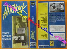 VHS film PSYCHO i grandi capolavori Alfred Hitchcock DEAGOSTINI (F36) no dvd