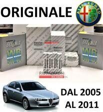 KIT TAGLIANDO FILTRI + OLIO SELENIA + CANDELETTE ALFA ROMEO 159 1.9 JTDM