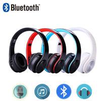 Auricular Inalámbrico Bluetooth plegable auriculares Stereo para iPhone Samsung