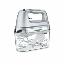 New listing Cuisinart Cuisinart® 7-Speed Electric Hand Mixer in Brushed Chrome with Storage