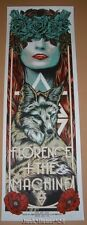 Rhys Cooper Florence & the Machine Austin Poster Print Signed Numbered 2016
