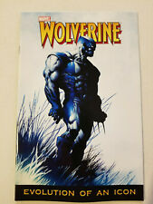 Marvel Legends Poster book Wolverine Evolution of an Icon