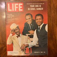 LIFE Magazine ~ February 4 1966 ~ Old-Time Harlem ~ Mont Blanc Plane Crash ~ Ads