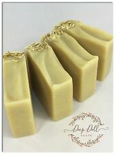 Fragrance Free Goats Milk Soap-honey & oats-cocoa butter