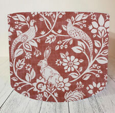 Fabric Lampshade Handmade Terracotta Rabbit Woodland Lamp Shade Light Ceiling