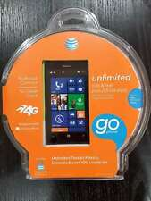 Nokia Lumia 520 8GB Black AT&T GSM Smartphone 4-Inch Touch Screen Windows Phone.