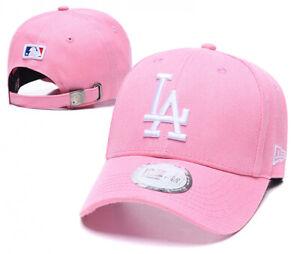 Baseball Cap Adjustable Embroidered LA Los Angeles Latter Sports Hat For Unisex