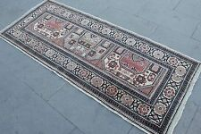 "Vintage Handmade Turkish Oushak Wool Anatolia  Runner Rug 73""x29"""
