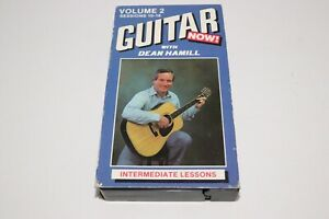 Guitar Now Volume 2 Dean Hamill VHS Tape Sessions 10-16 Learn How To Play Lesson