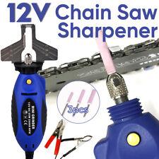 12V 55W Mini Chainsaw Chain Sharpener Electric Grinder Wrench Tool 25000RPM AU