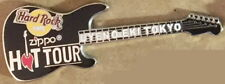 Hard Rock Cafe U-E TOKYO 2004 ZIPPO HOT TOUR Guitar PIN LE300 HRC Catalog #25986