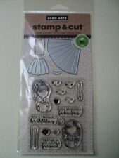 HERO ARTS STAMP & CUTS GIRL CLEAR STAMPS WITH MATCHING DIE-CUTS *LOOK*