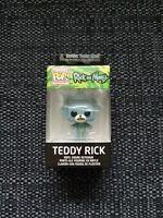 Funko Pocket Pop Ricky and Morty Teddy Rick Key Chain NEW + SEALED
