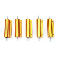 1/2/4/8/10 Ohm 100W Watt Shell Power Aluminum Housed Case Wirewound Resistor DH